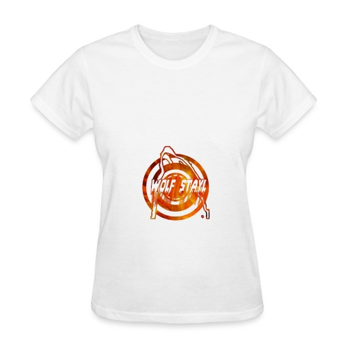 The howling of the wolf - Women's T-Shirt