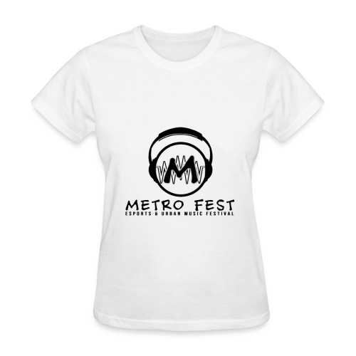 Metrofest White - Women's T-Shirt