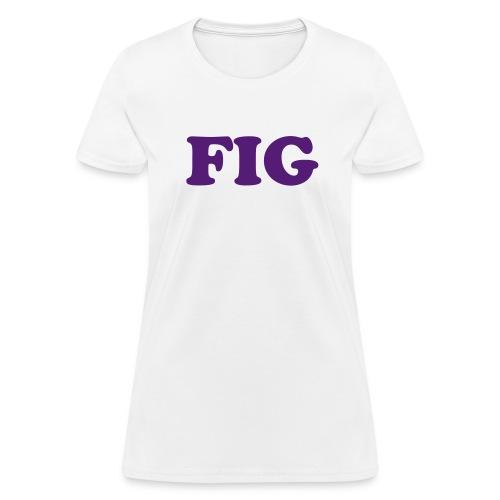 Fig Fruitee - Women's T-Shirt