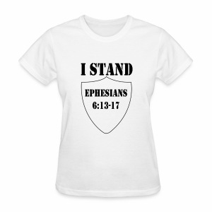 I Stand shirt - Women's T-Shirt