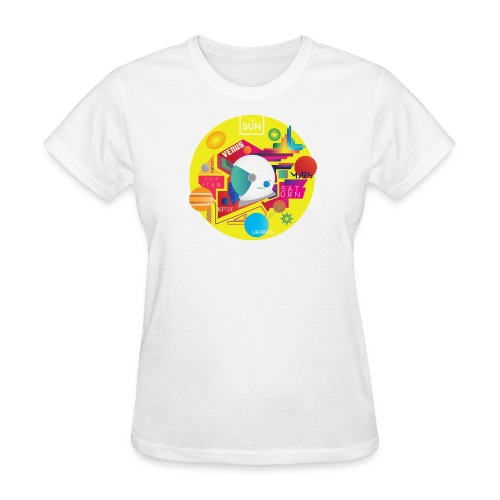 Cosmonaut DESIGN - Women's T-Shirt