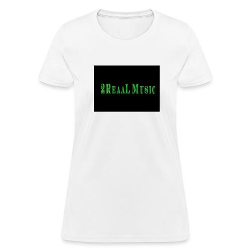 2ReaaL Music - Money Design - Women's T-Shirt