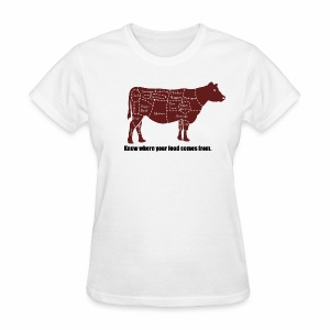 Cuts of the Cow - Women's T-Shirt