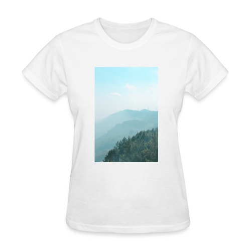 Hilly Stack - Women's T-Shirt