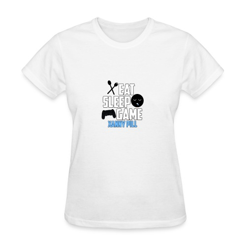 EAT SLEEP GAME - Women's T-Shirt
