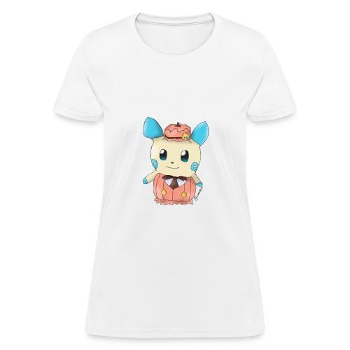 Halloween skull zombie pumpkin T shirt 3 - Women's T-Shirt