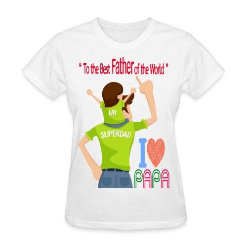 Father and son - Women's T-Shirt