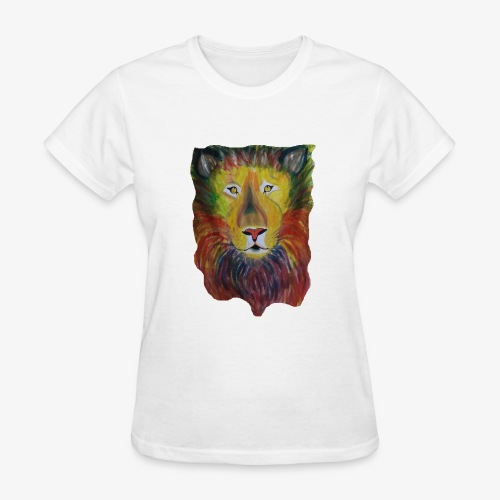 Rainbow Lion - Women's T-Shirt