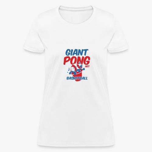 Giant Pong Basketball - Women's T-Shirt