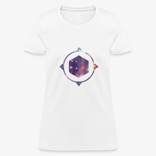 polygon space - Women's T-Shirt