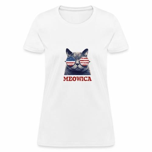 Meowica - Women's T-Shirt
