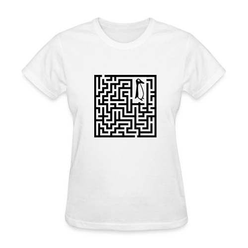 penguin Maze shirt - Women's T-Shirt