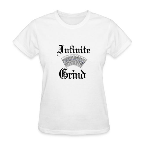 Infinite Bands Black ink - Women's T-Shirt