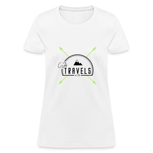 CJ s Travels Primary Logo - Women's T-Shirt