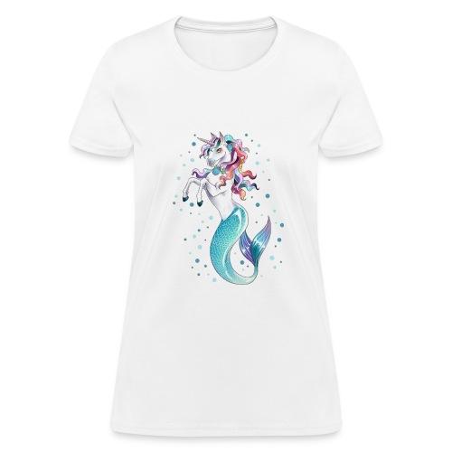 unicorn mermaid - Women's T-Shirt