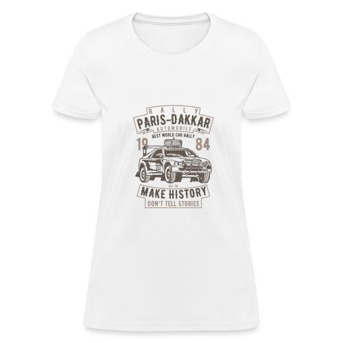 Rally Paris Dakar Automobile - Women's T-Shirt