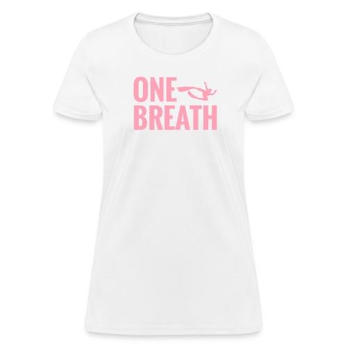 One Breath Freediving Apnea Shirt - Women's T-Shirt