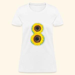 8 Exabytes Sunflower by GVD - Women's T-Shirt