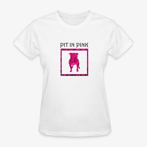 PIT IN PINK - Women's T-Shirt