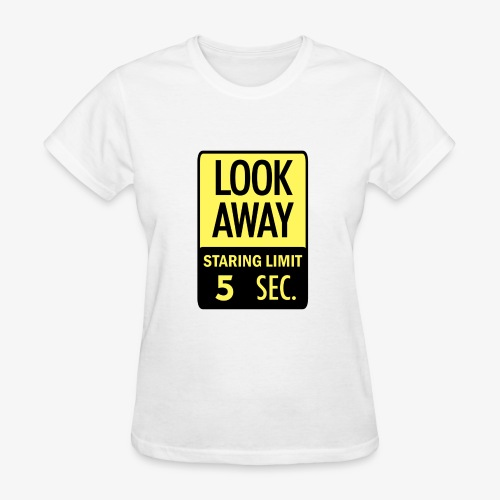 LOOK AWAY Yellow - Women's T-Shirt