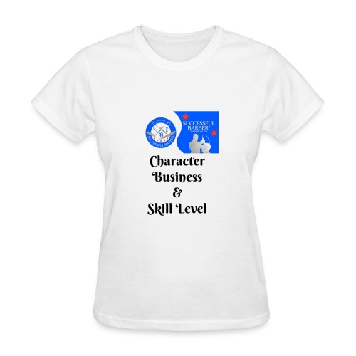 Character, Business & Skill Level - Women's T-Shirt