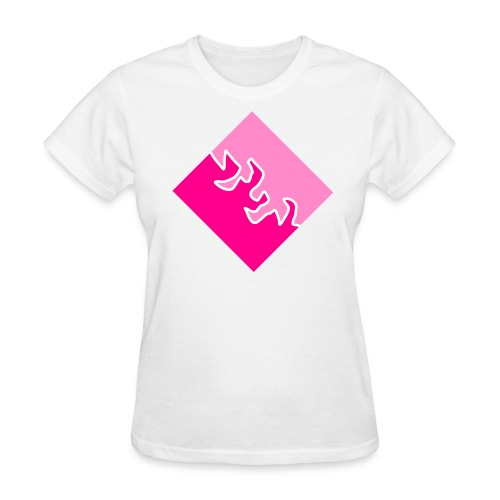 Carré de Amour - Women's T-Shirt
