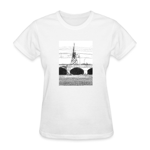 The old city bridge - Women's T-Shirt