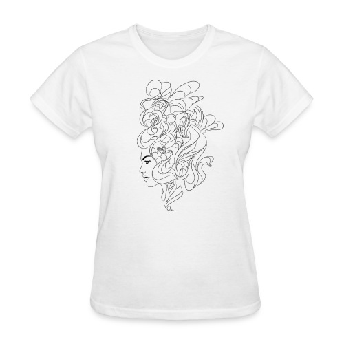 curly - Women's T-Shirt