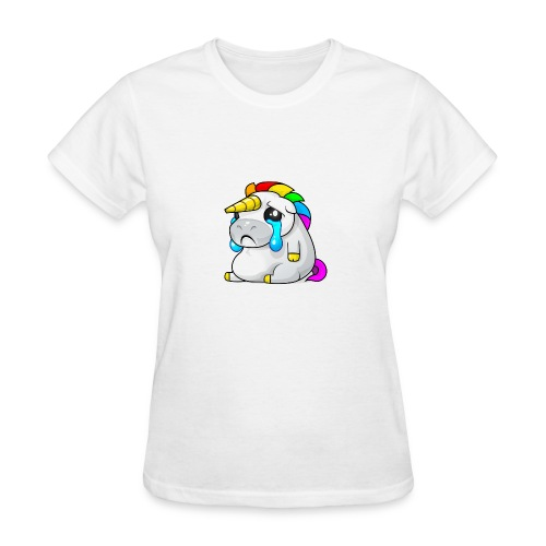 Alasdair unicorn crying - Women's T-Shirt