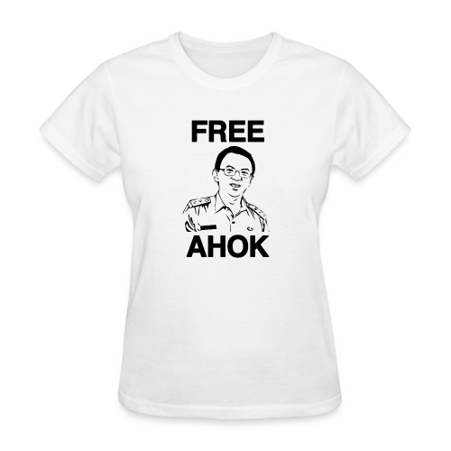 Free Ahok - Women's T-Shirt