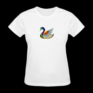 the swan - Women's T-Shirt