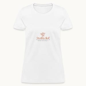 Canadian Bird Photographer - BK Text - Women's T-Shirt