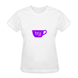 Tea Shirt Simple But Purple - Women's T-Shirt