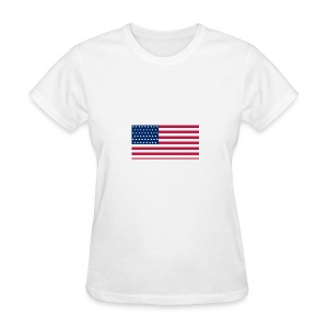 usa flag - Women's T-Shirt