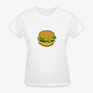 Comic Burger - Women's T-Shirt
