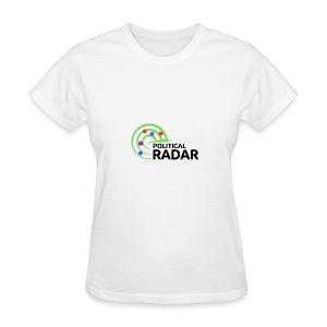 Political Radar Logo - Black - Women's T-Shirt