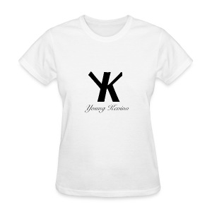Young Kevino Official Logo (Black) - Women's T-Shirt