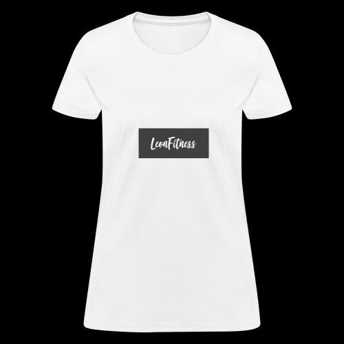 LeonFitness Box Logo - Women's T-Shirt