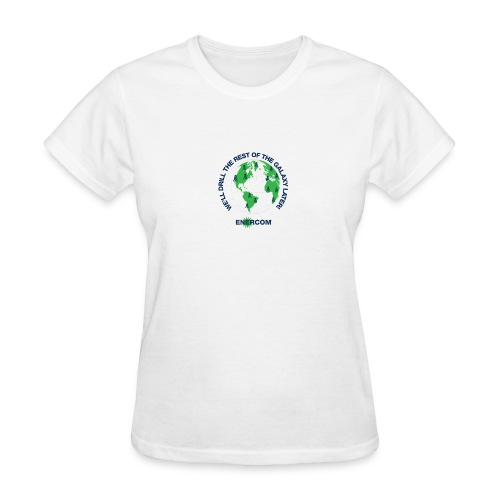 TEARTH FIRST BACK SIDE - Women's T-Shirt