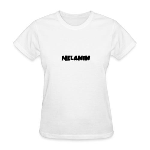 Melanin #PandaDESIGNS - Women's T-Shirt