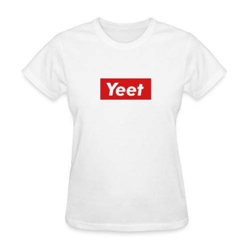 Yeet - Red - Women's T-Shirt