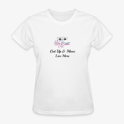 Get Up & Move Signature Tee - Women's T-Shirt