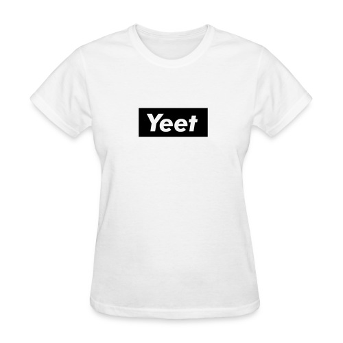 Yeet - Black - Women's T-Shirt