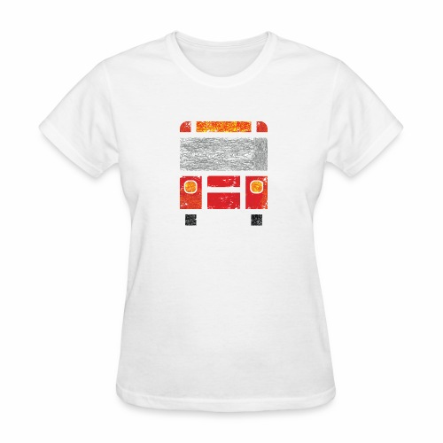 Iconic Red Bus - Women's T-Shirt