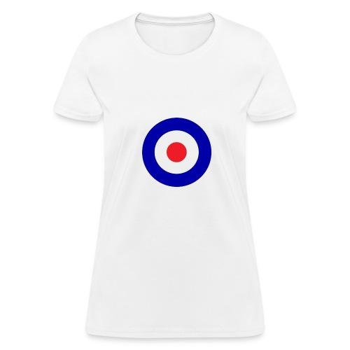 Bullseye hollow tankgirl - Women's T-Shirt
