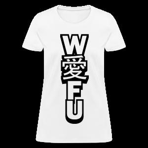 waifu_vertical - Women's T-Shirt