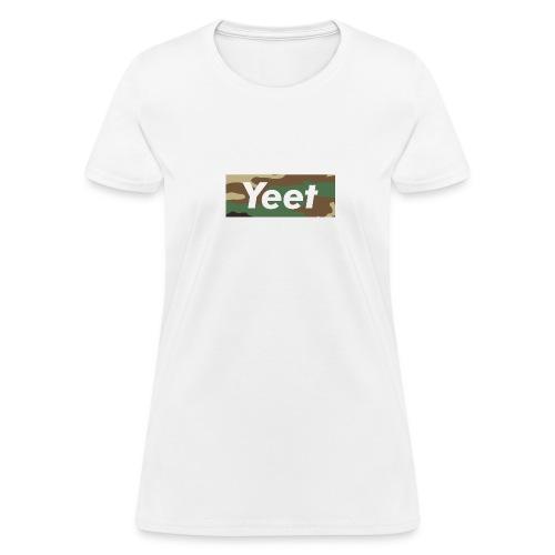 Yeet - Camo - Women's T-Shirt