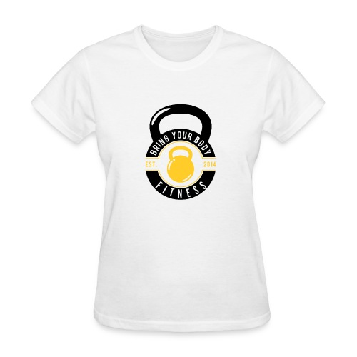 Bring your Body white Background - Women's T-Shirt