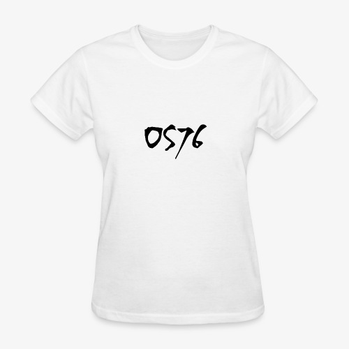 OS76 TYPE BLACK w OUTLINE - Women's T-Shirt