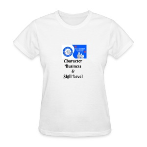 Character, Business & Skill Level - Women's T-Shirt